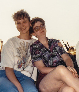Brenda Bieber and Lisa Humma