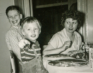 Marian (Werner) Humma, with her brother Steve Werner, and her daughter Cathy Humma.