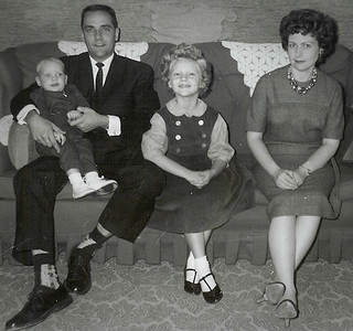 Ronald and Marian (Werner) Humma with their daughter Cathy and son Jeb.