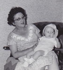 Virginia (Yeich) Werner with grandson Jeb Humma.