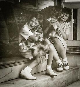 Marian Elizabeth and Donald Arthur Werner - children of Claude and Virginia (Yeich) Werner.