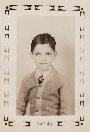 Donald Werner, 4th grade, 1947-48 school year.