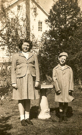 Marian Elizabeth and Donald Arthur Werner - children of Claude and Virginia (Yeich) Werner.
