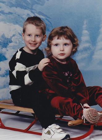 Ryan Werner, 4-1/2 years and Kelly Werner, 2 yrs 8 months. December 2004.