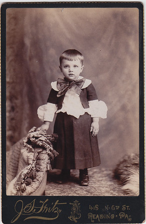 Elmer Yeich, 3 yrs old, 1892.