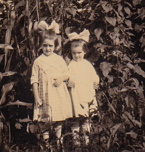 Virginia & Mildred Yeich, at 3rd & Exeter St., Reading, PA.