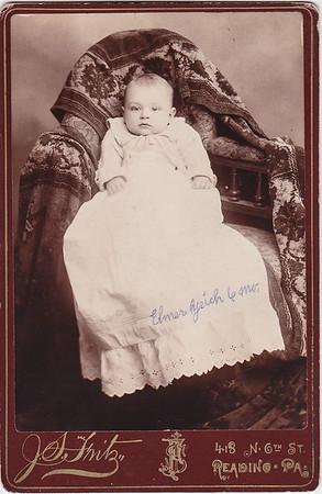 Elmer Yeich, 6 months old.