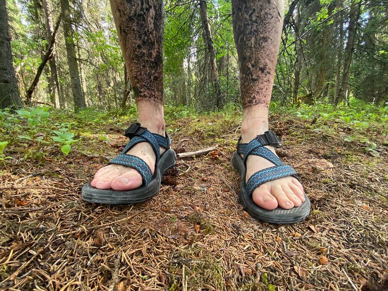 2020 06 13: Dirty legs do wonders for mental health.