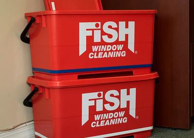 Fish Window Cleaning Ribbon Cutting Opening-14