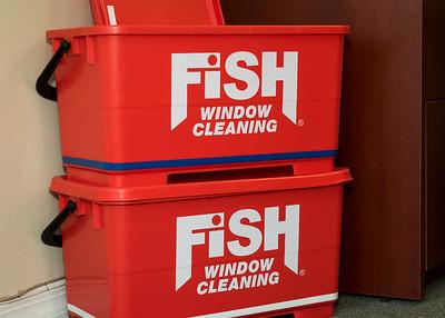Fish Window Cleaning Ribbon Cutting Opening-12
