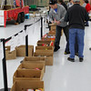 Sorting food is a tedious but important aspect of food drives.
