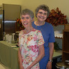 Co-chairpersons for the Open House event were Jill Anderson (left) and Cherie Miller.