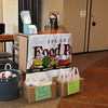 "In the Countryside Church lobby, church members placed this donation station at their ""Information Desk.""<br /> <br /> Volunteers from Countryside are also staffing pantry jobs during all of May."