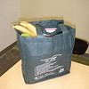 One of the reusable bags donated to the Spearfish Community Food Pantry through the generosity of the BHSU Students in Free Enterprise and the Northern Black Hills Rotary Club.