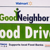 <b><i>WALMART FOOD DRIVE</i></b> - September 2011  The Walmart Good Neightbor Food Drive was conducted September 17-18, 2011 at the Spearfish Walmart store.