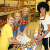 Key Club <b><i>Super Heroes</i></b> from Spearfish High School flew in to the Food Pantry around Halloween with 40 pounds of donated food.  These Super Heroes did a Super Job!  Shazam!