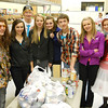 "Spearfish High School Key Club students who dubbed themselvers ""Teen Sleeps"" donated 86 pounds of food to the Food Pantry in October.  Thanks!"
