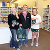 "Jessie Cronk, Curtis Coomes and Becca Ellis show off the recycable bags donated to the Food Pantry.           Return to<a href=""http://www.spearfishpantry.net""> <b><i>Spearfish Community Food Pantry</i></b> </a> site."