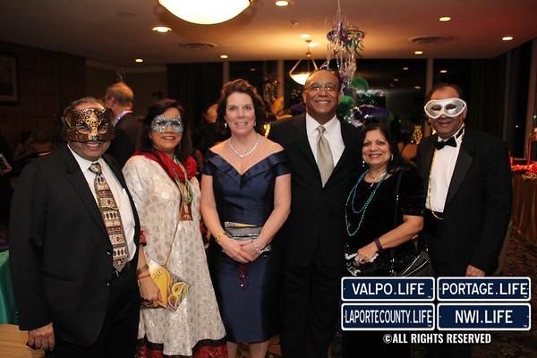 Mardi Gras Masquerade Benefit for Methodist Hospital Foundation 2017