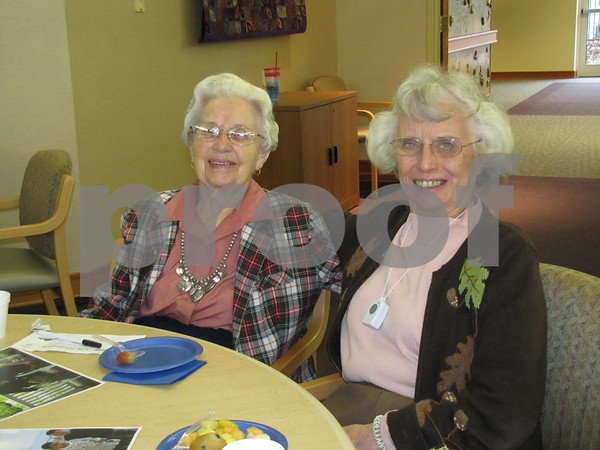 Emma Knox and Joyce Knudson attended the party to celebrate The Gardens 10 year anniversary.
