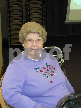Viola Lauver attended the celebration.