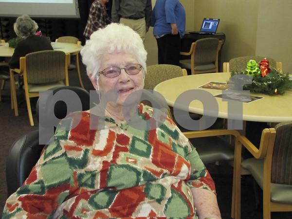 Virginia Barrett attended the celebration.