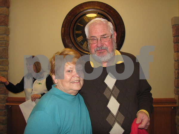 Karol and Bob Dorsey attended the open house at the Simpson Health Center in Friendship Haven.