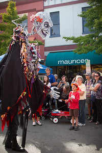 Giant Puppet Parade 2012