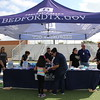 The City of Bedford booth.