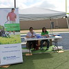 A booth from Texas Health promoting weight loss surgery.