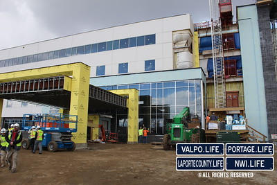 New La Porte Hospital Tour 2020