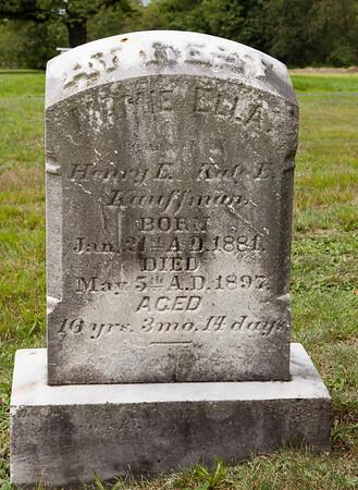 Mary Ella (Mamie) Kauffman, 21 Jan 1881 - 5 May 1897, daughter of Henry Edmund Kauffman dn Kate Elizabeth Schlasman.