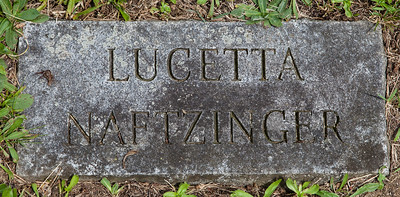 Lucetta Naftzinger, born June 1837, daughter of Joseph and Catherine (Dieffenbach) Naftzinger.