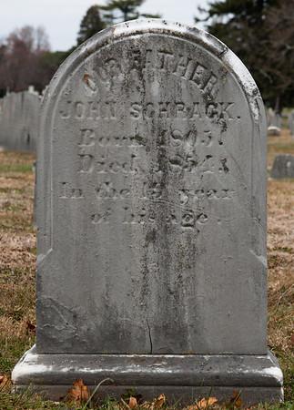 John Schrack, 1805 - 1854