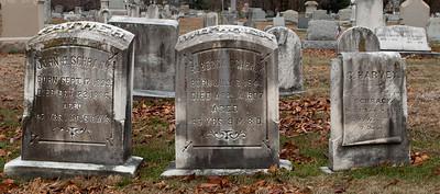 John H. Schrack, 1839 - 1886, Rebecca Schrack, 1841 - 1907, C. Harvey Schrack sone of John H & Rebecca.