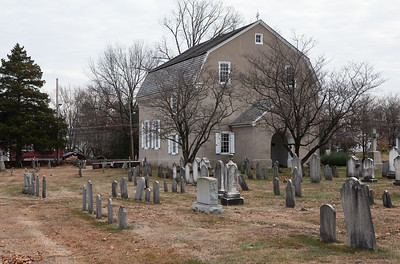 Augustus Lutheran Church and cemetery.