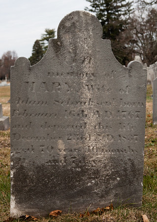 Mary wife of Adam Schrack, __ 1767 - 1837