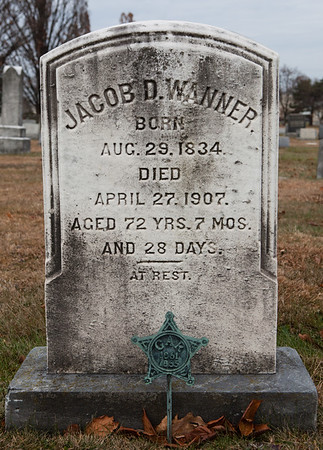 Jacob D. Wanner, 1834 - 1907