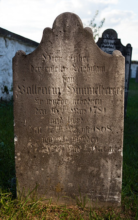Vallentin Himmelberger, 16 May 1781...  17 aug 1808...