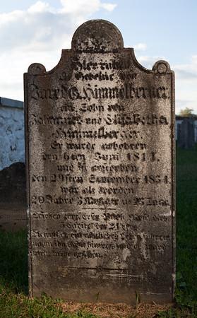 Jared Himmelberger, 1811 ... 1831...