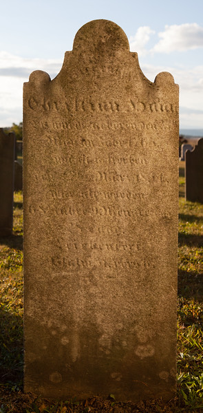Christian Haag, born 23 March 1765, died 22 March 1834 (Husband of Mary Klein).