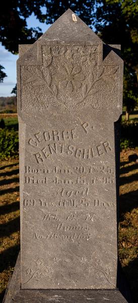 George P. Rentschler, b. 1825, d. 1895...