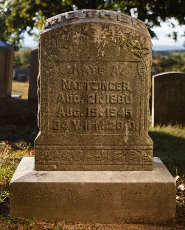 Kate A. Naftzinger, Aug 21, 1960, Aug 19, 1945