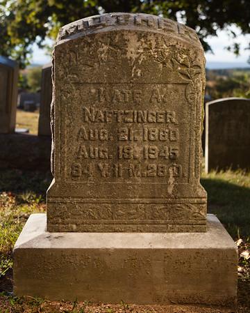 Kate A. Naftzinger, Aug 21, 1960, Aug 19, 1945