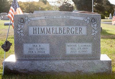 Ira P. Himmelberger, 1915 - 2004, Minnie I. Schrack, 1919 - 1995, married Nov. 29, 1943.