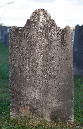 George Himmelberger, born 21 April 1747, died 19 September 1821... (Husband of Elizabeth Brecht).