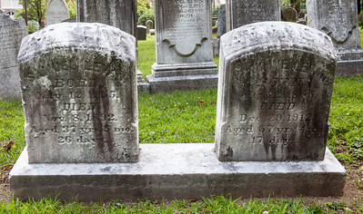 Left stone: Samuel Levan, May 12, 1855 - Nov 8, 1892.  Right stone: ____ Levan, Aug 12, 1855 - Dec 29, 1912.