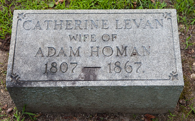 Catherine Levan 1807 - 1867. Wife of Adam Homan.