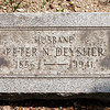 Peter N. Deysher, Dec 8, 1856 - Nov 28, 1941. Son of John Deysher and Catherine Newkirk.<br /> <br /> 1st wife: Catharine Conrad, born about 1862. Daughter of William Conrad.<br /> Peter and Catharine are parents to: Charles, Eva C., Annie D., Laura and Elwood Deysher.<br /> <br /> 2nd wife: Sarah L. Hearing. (No known children).