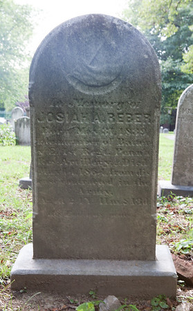 Josiah A. Reber, May 31, 1839 - May 14, 1864. Son of William L. Reber and Mary Magdalena Boyer.